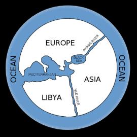 Anaximandre, 6th century BCE