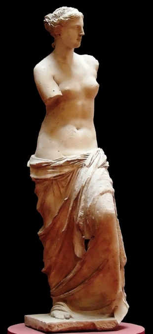 marble statue of aphrodite essay Aphrodite of milos (greek: which contained a fine marble statue in two pieces and placement of the statue of venus de milo in the museum.