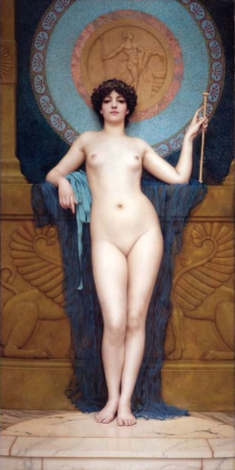 Campaspe, by John William Godward