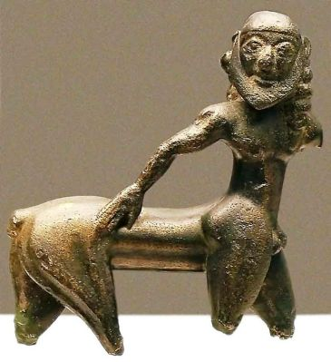 Centaur, Little figurine in bronze from Campo de Caravaca (Murcia), probably made in Greece, 6th century BC