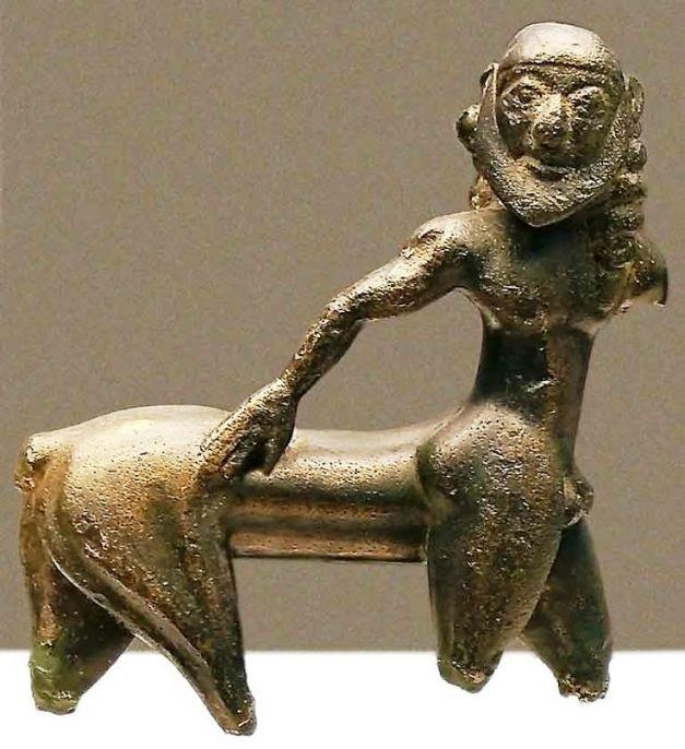 Centaur, Little figurine in bronze from Campo de Caravaca (Murcia), probably made in Greece, 6th century BC