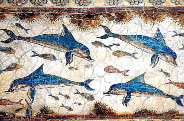 !Dolphins in Knossos