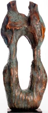 """""""Los Millares"""" by Marianne Weil, 2008. Cast Bronze"""