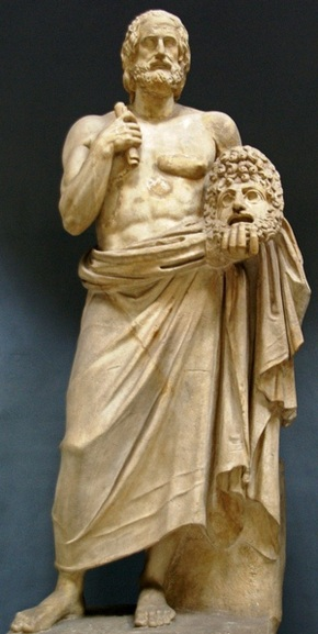 !Euripides, Musei Vaticani, Roma, Sebastià Giralt