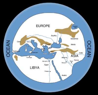 Hecataeus, 6th-5th centuries BCE