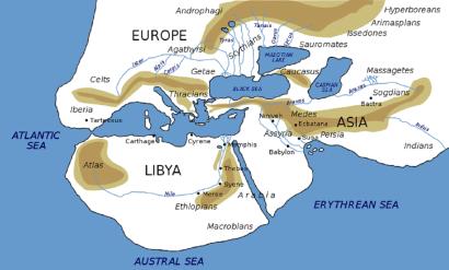 Herodotus, 5th century BCE