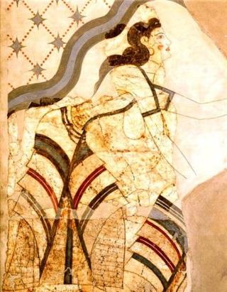 !Minoan beauty in Thera