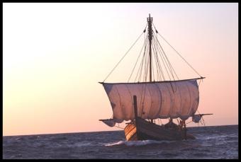 replica of the Uluburun shipwreck