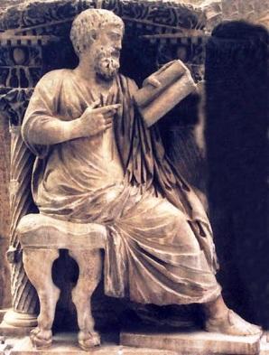 sarco'fago, hombre leyendo, ma'rmol frigio, 180-200 DC