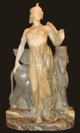 !Semiramis, Eliseo Fattorini, 19th c