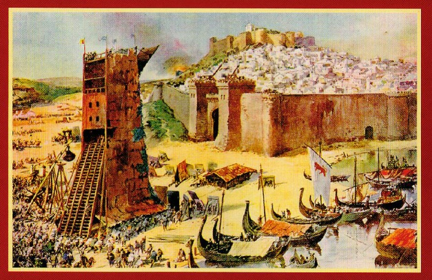 Aquarela de Alfredo Roque Gameiro (1864-1935) lisboa antiga