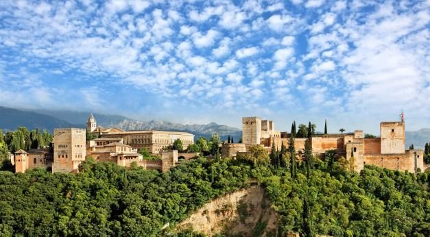 Alhambra-Granada-Spanien