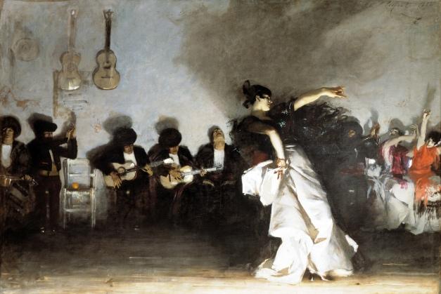EL_JALEO-John Singer Sargent 1882