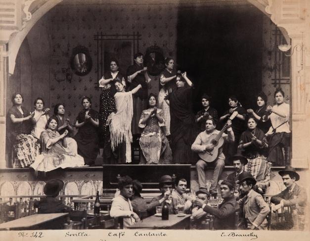 EMILIO_BEAUCHY,_Café_cantante,_hacia_1885,_copia_a_la_albúmina