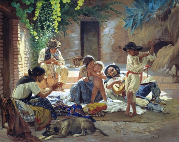 Yevgraf Sorokin-Spanish Romani people