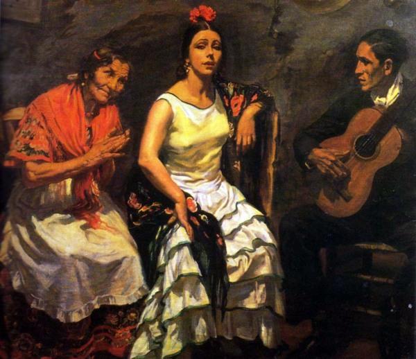 cante jondo_apperley-Canción Malagueña 1931 George Apperley