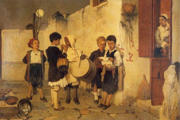Κάλαντα, Νικηφόρου Λύτρα,1872
