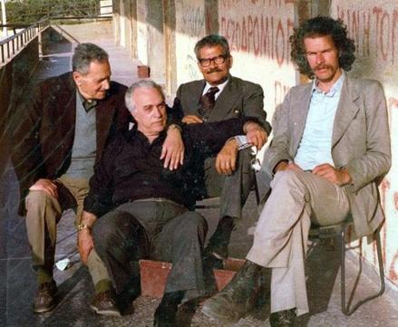 Στέλιος Φουσταλιέρης, Γιώργης Γκόγκας, Κωστας Μουντάκης και Ross Daly