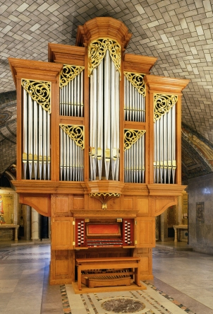 Crypt Church Organ