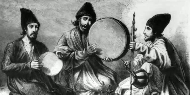 Kurdish musicians 1890