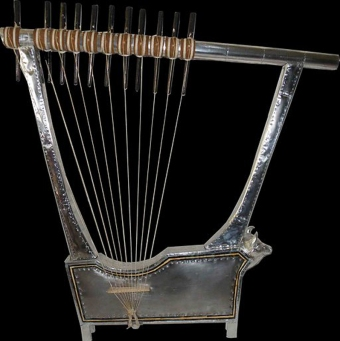 The Reconstructed Silver Lyre of Ur