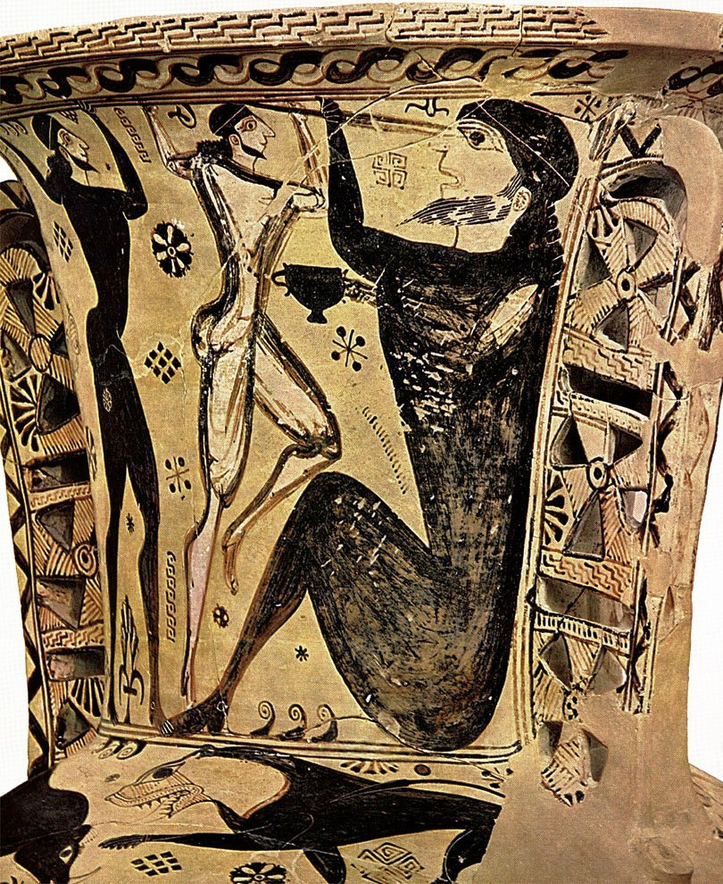 odysseus and polyphemus People living on the southwestern coast of thrace who battled odysseus and his men on their journey circe enchantress and goddess who turns odysseus's men into swine.