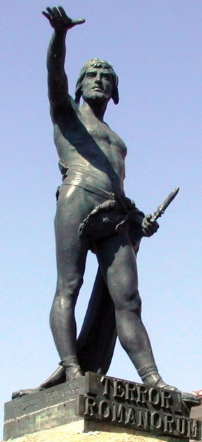 Statue of Viriato in Zamora