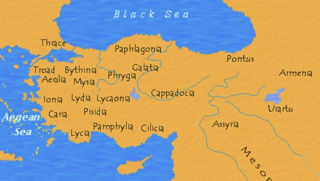 Ancient Anatolia (Asia Minor)