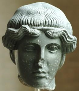 Head of Orpheus. Bronze. 460 BC